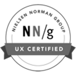 UX Certified by the Neilson Norman Group