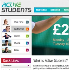 Hertfordshire University Active Students