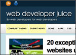 Web developer juice screenshot